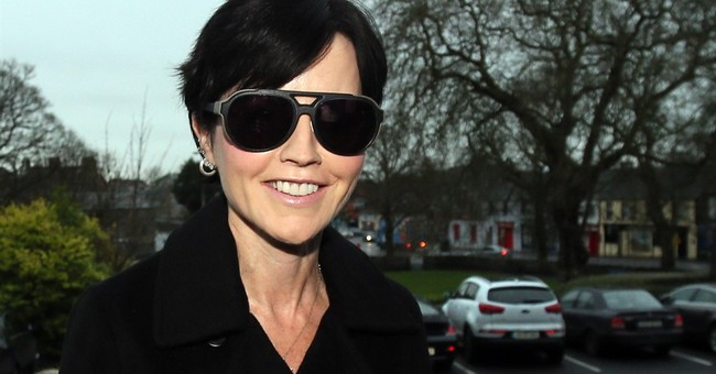 Cranberries singer O'Riordan admits assaulting Irish police