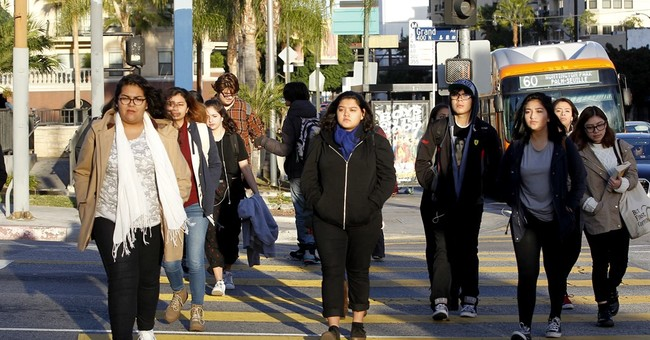 The Latest: Congressman cites differences in LA, NY threats