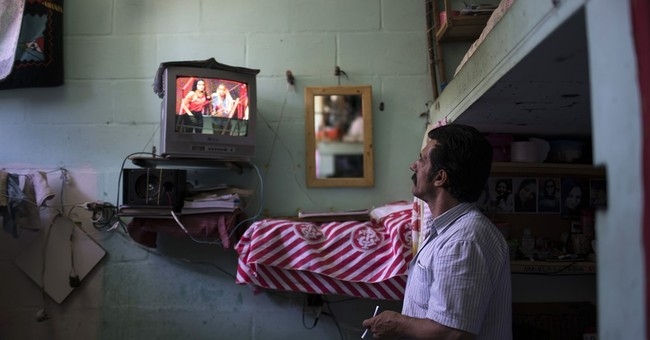 AP PHOTOS: Inside one of Brazil's packed prisons