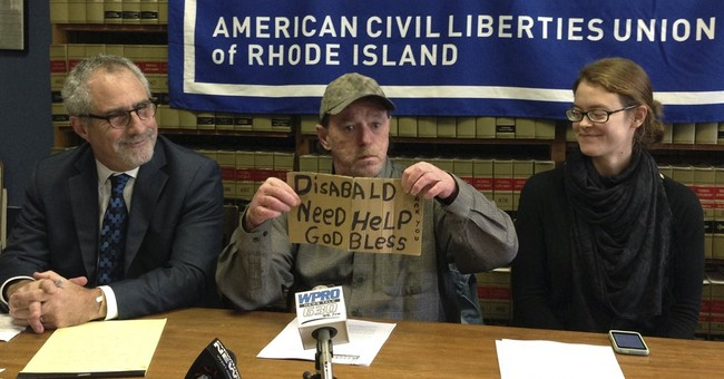 Man sues over panhandling citation, says it violates rights