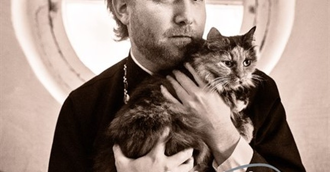 Cat calendar shows unexpected side of Russian Church