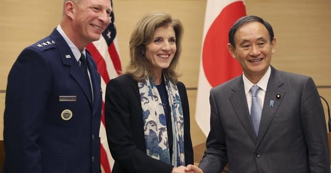 US ambassador to Japan Kennedy defends Okinawa base plan
