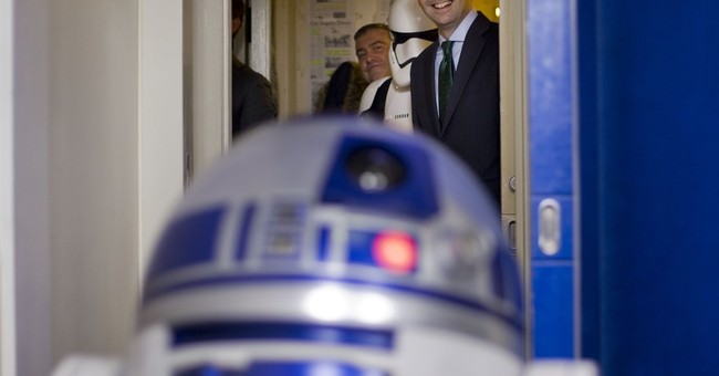 Star Wars mania comes to the White House