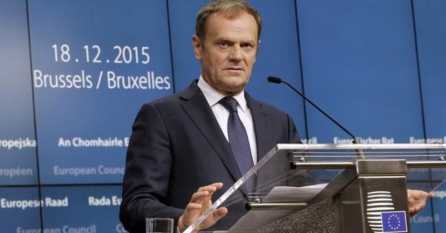EU leaders say Russia-Germany gas line could break EU rules