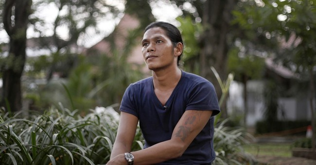Portrait of slavery: Fisherman jailed for wanting to go home