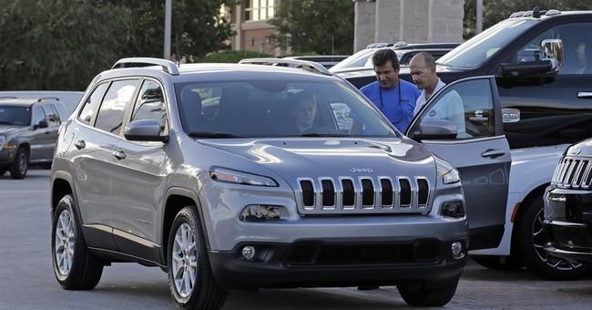 Fiat Chrysler recalling nearly 56K Jeeps to fix water leak