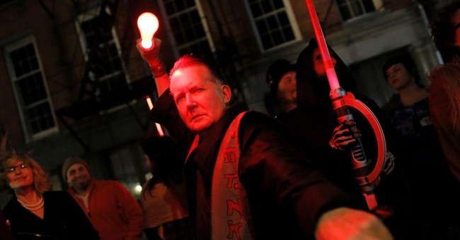 New Orleans-style mirth marks arrival of 'The Force Awakens'