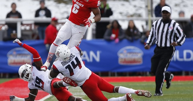 Arizona holds off New Mexico 45-37 in New Mexico Bowl