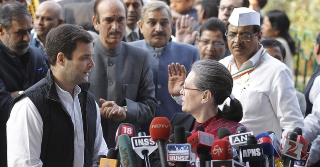 India's Sonia and Rahul Gandhi appear in court in graft case