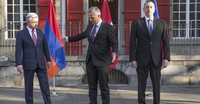 Armenia, Azerbaijan hold Swiss talks on Nagorno-Karabakh