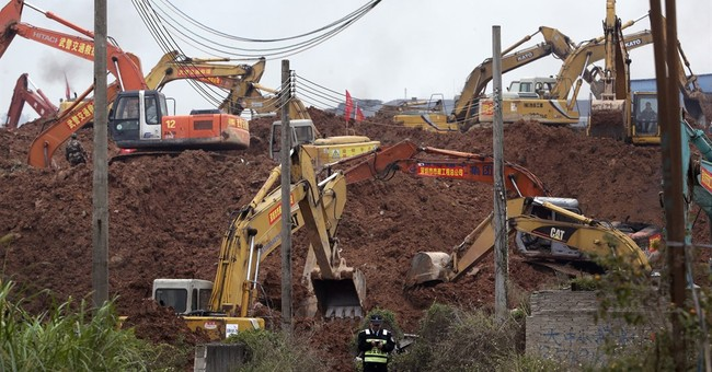 Massive mountain of soil, waste blamed for China landslide