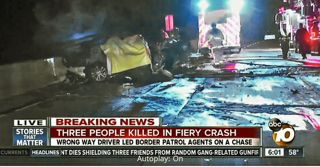 Wrong-way driver goes over 100 mph before deadly crash