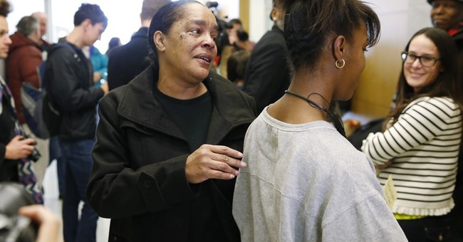 The Latest: Man released from prison ready to be with family