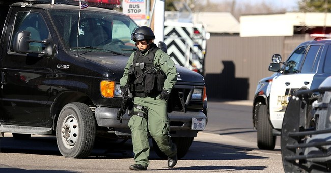 2 police officers shot in Odessa, Texas; standoff ends