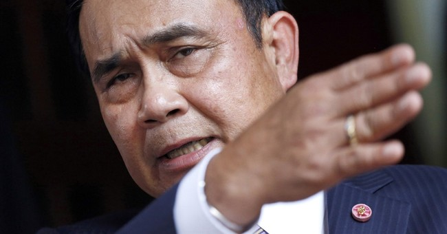 Thai junta says 99 percent of people are happy with its rule