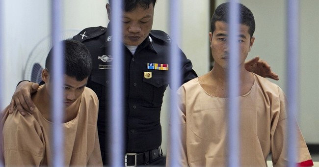 Myanmar migrants found guilty of killing British backpackers