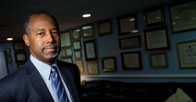 AP INTERVIEW: Carson suggests campaign shake-up is coming