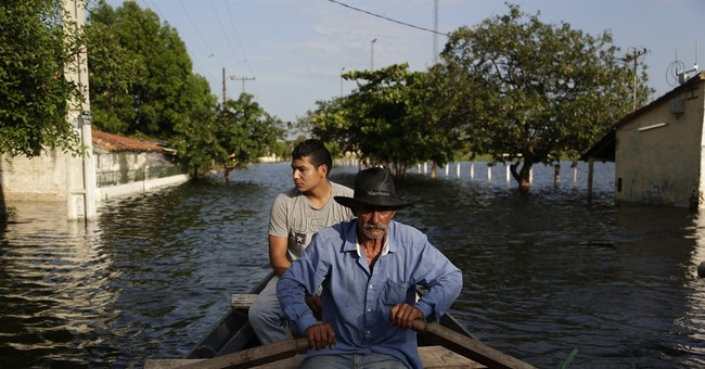 South America hit by floods, drought from powerful El Nino