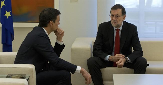 Spain's Socialist leader won't support Rajoy in his PM bid