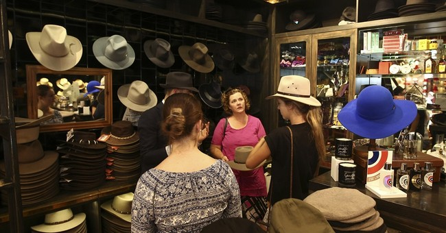 AP PHOTOS: Rugged, stylish Akubra hat a symbol of Australia