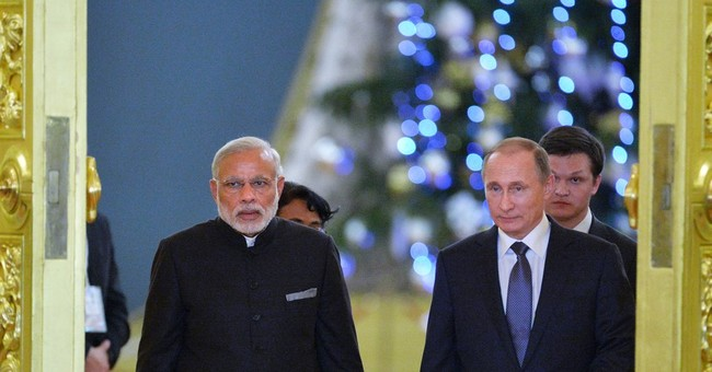 Russia's Putin hosts Indian PM for talks on defense, energy