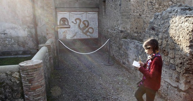Good news for woe-plagued Pompeii: 6 restored sites now open