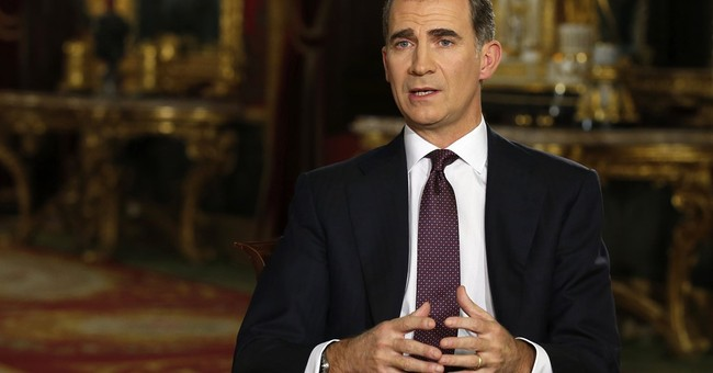 Spain: King Felipe decries Paris attacks in Christmas speech