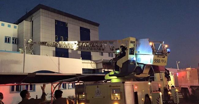 Overnight hospital fire in Saudi kills 31, injures over 100