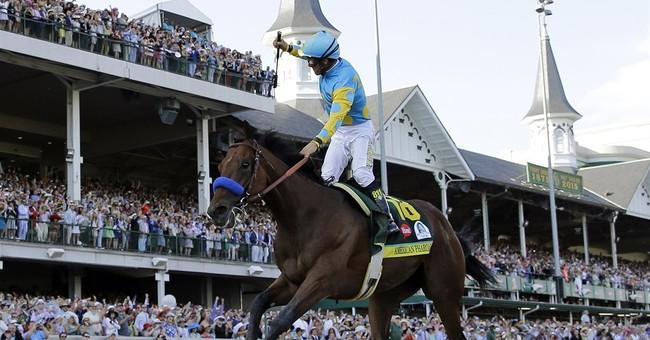 American Pharoah's Triple Crown is AP sports story of year