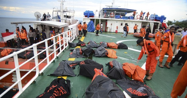 Rescuers recover 40 more bodies in Indonesian boat accident