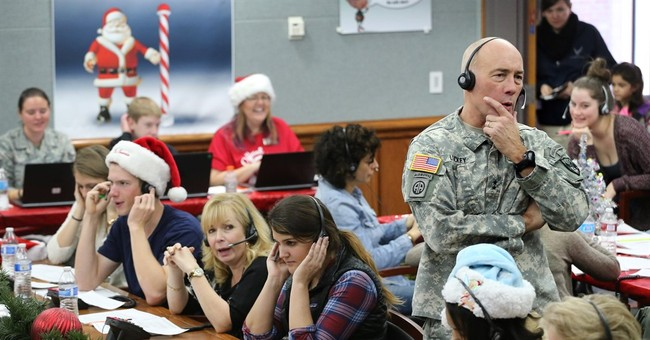 Military tracks storybook flight of St. Nick for 60th year