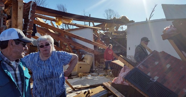 The Latest: 11 dead in South storms; some names released