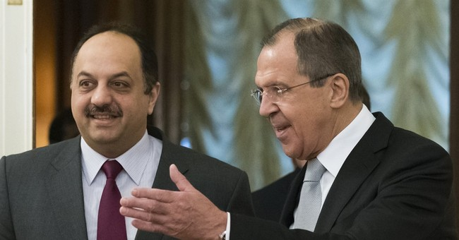 Russia, Qatar to encourage Syrian opposition to talk to govt