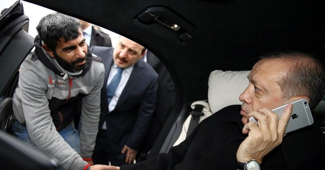Erdogan's office says he stopped man from jumping off bridge