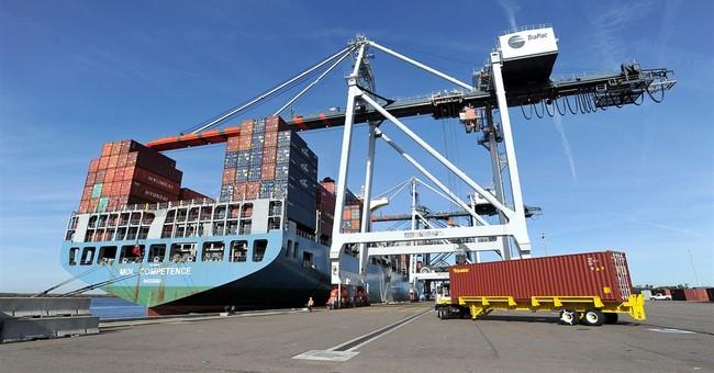 US trade deficit jumps 17.1 percent to $46.6 billion
