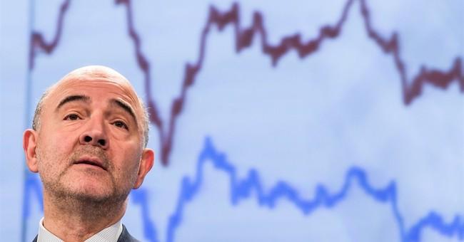 EU gets a bit more positive over eurozone economic growth