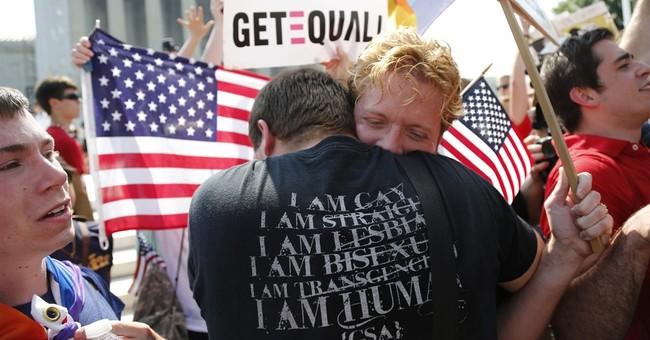 AP-GfK Poll: Americans split on Supreme Court marriage case