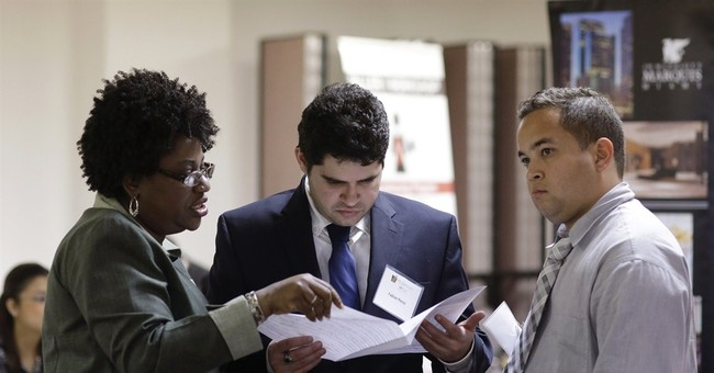 US jobless applications rise, but levels point to job growth