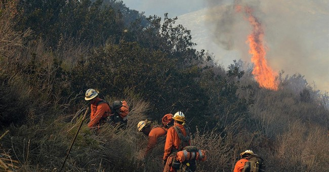 Wildfire contained, authorities worry about landslides