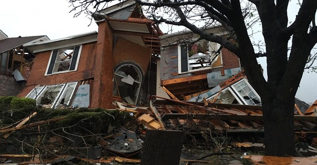 Tornados, floods and whiplashed temperatures mark US weather