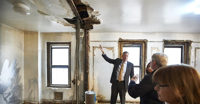 NYC Mayor de Blasio's year defined by feud with governor