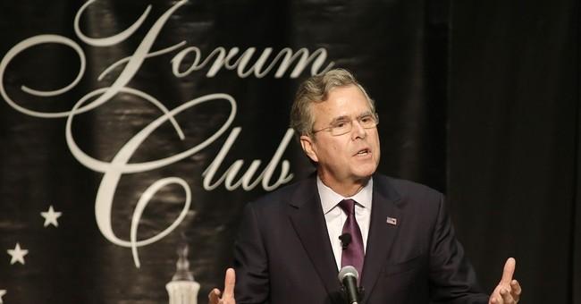 Former Gov. Bush, in home-state Florida, pans Clinton, Trump