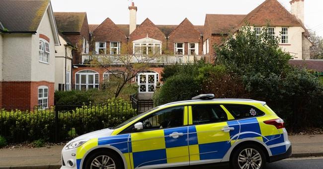 Elderly man held after woman shot dead in UK nursing home