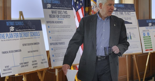 Michigan governor pitches pricey plan to fix Detroit schools