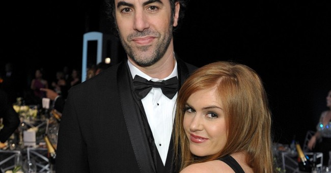 Actor Sacha Baron Cohen, wife fund help for Syria victims