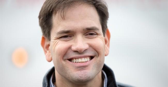 Amid attendance attacks, Rubio focuses on Iowa