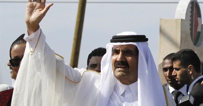 Qatar's former ruler flown to Switzerland after breaking leg
