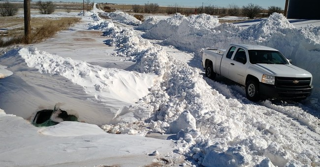 New Mexico works to unbury after record snow storm