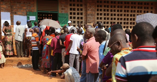 Voters in Central African Republic hoping for stability