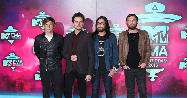 Kings of Leon usher in 2016 with fireworks and new music